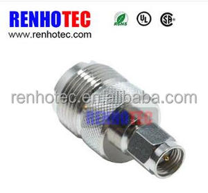 RP SMA Male Plug to UHF Female Jack Connector coaxial