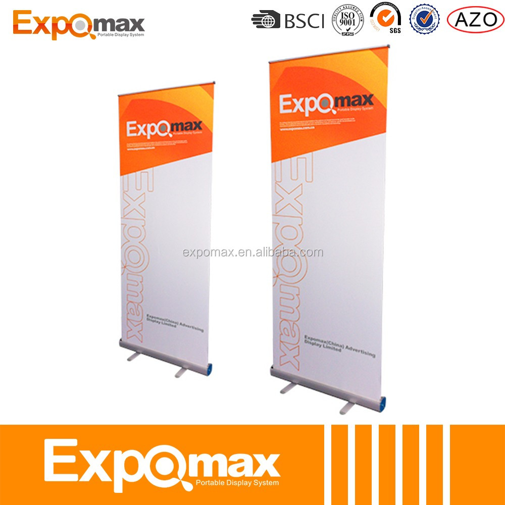 GIFT Outdoor/Hand/String/flag Cape Rolling banner telescoping height adjustable roll up banner