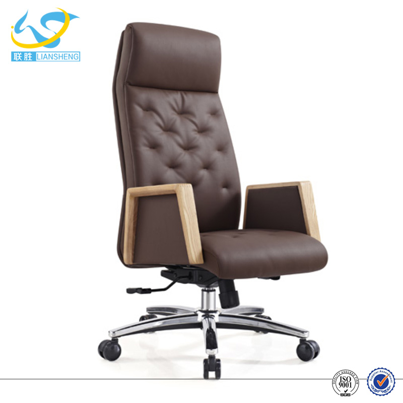 Height adjustable swivel PU chair office furniture for pregnant women
