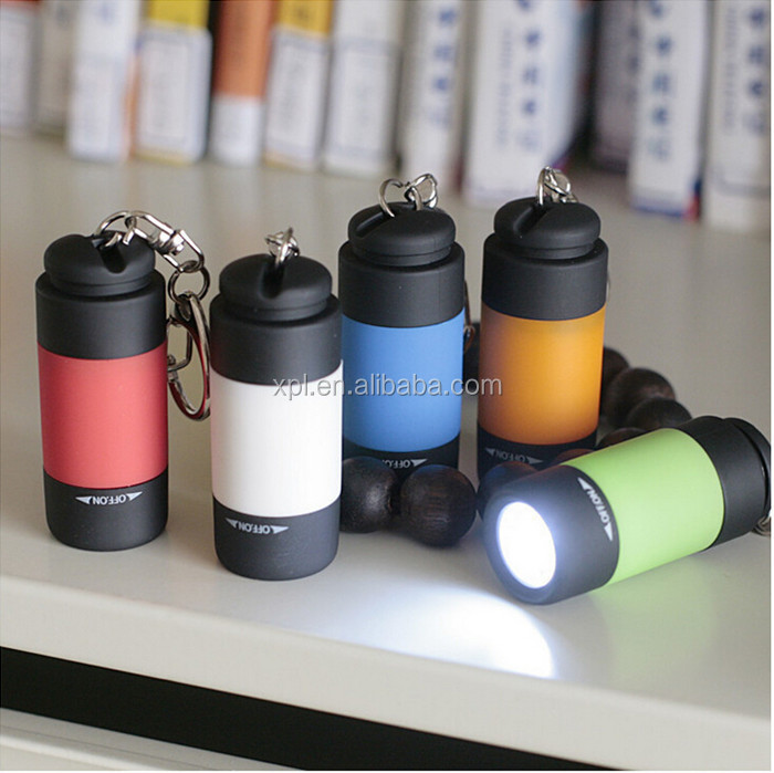 USB mini rechargeable small flashlight