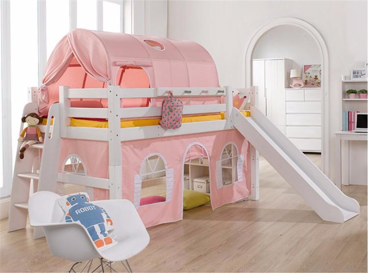 Tenda Tunnel Letto A Castello : Bambini tenda tunnel tenda letto a soppalco in legno massello letto