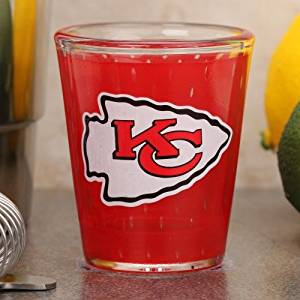 Get Quotations · Kansas City Chiefs 2 Oz. Jersey Shot Glass 69e994e33