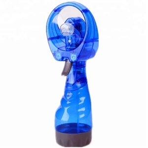 Outdoor Portable Handheld Water Bottle Mist Spray Mini Fan With Battery
