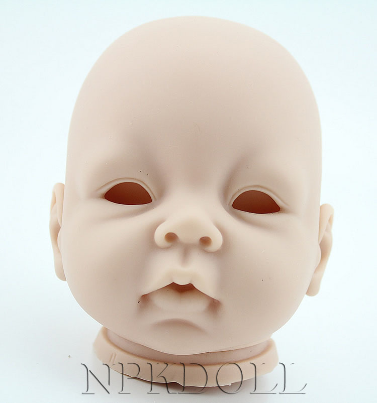 22inch Silicon Vinyl Doll Kits Diy Reborn Baby Doll Parts