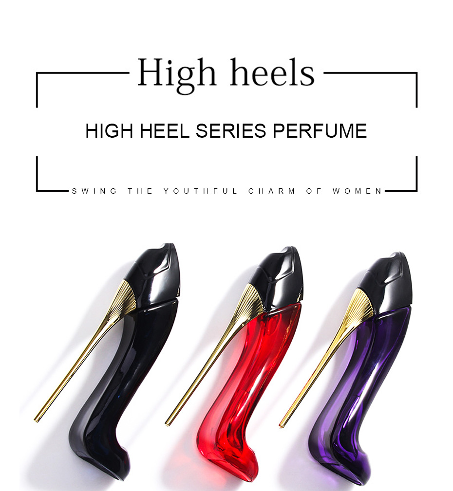 2019 new High-heeled shoes perfume for women