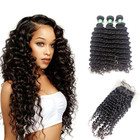 2019 is the hottest selling product with high quality and 100% virgin indian remy temple fertilizer cambodian deep curly hair