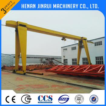 Hot Sale 5 Ton 10 Single Girder A Frame Lifting Gantry Crane Price