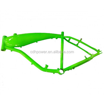 Gt-b Gas Frame W/fuel Tank 3.75l - Green - Buy Bicycle Frame In ...