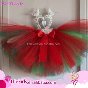 e799e50cd769 Baby Girl Dress Up Skirt Toddler Kids Girl Reversible Red And Green ...