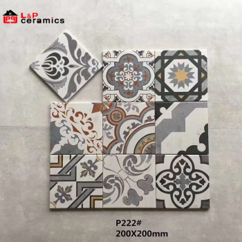 Moroccan Style Decorative Ceramic Tiles For Floor And Wall