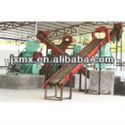 The waste electrical cable recycling machine plant