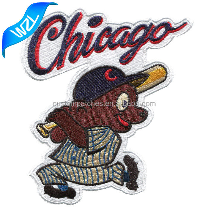 Chicago Baseball Embroidery Back Patches