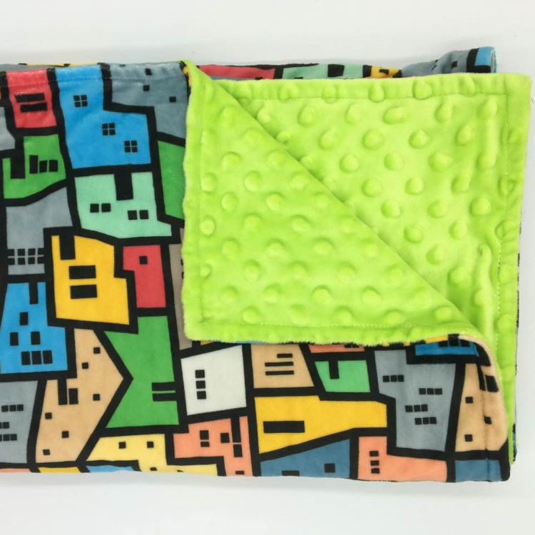 wholesale custom minky blanket baby