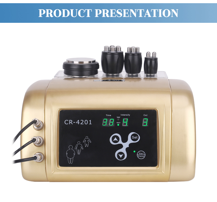 4 in 1 rf ultrasound fat cavitation machine for weight loss body slimming