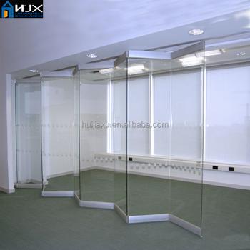 Modern Folding Used Commercial Frameless Glass Folding Door