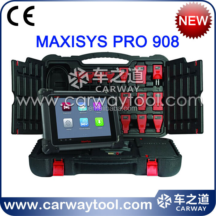 Diagnostic tool pad Autel MAXISYS PRO 908 professional car scanner MAXISYS PRO 908 for VOLVO