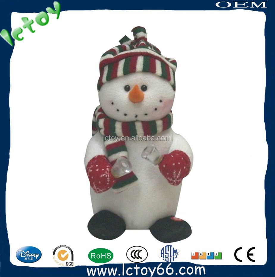 OEM plush christmas toy stuffed toy for present