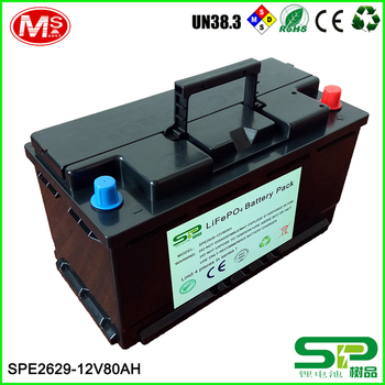 Golf Car /tricycle/electric Vehicle Rechargeable Lithium Ion Battery Pack  12v 80ah Replace Lead Acid - Buy Rechargeable Lithium Ion Battery,Lithium