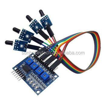 4 channel Flame sensor module, IR receiver sensor module(small pcb board  with wire), View IR sensor module, Made in China Product Details from