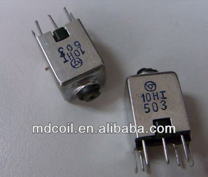 0.1uH-30uH Variable inductors for TV & FM IFT