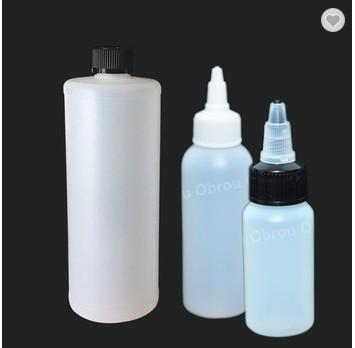 Glasflaschen 15 ml, 30 ml, 50 ml, 100 ml Runde / Quadratglas-Tropfflasche mit Pipette für ätherisches Parfumöl