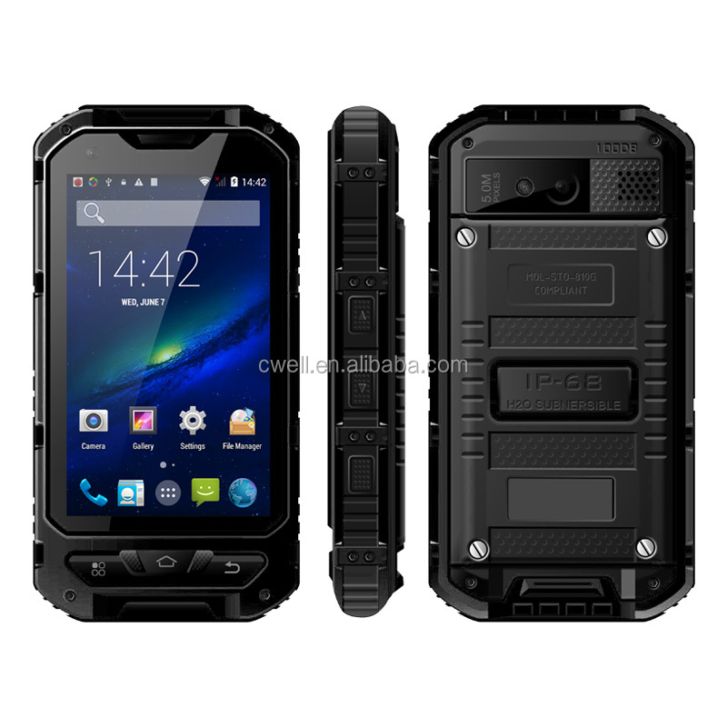 ALPS A8+ 4.0 Inch 3000mAh Big Battery 8GB ROM NFC IP68 Waterproof Rugged Smartphone