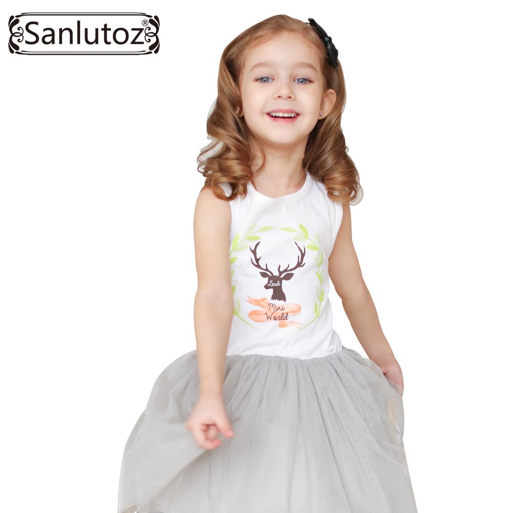 Girls Clothes Summer Girl font b Dress b font Children Clothing 2016 Brand Fashion Cute Party