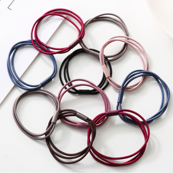 Free S Hipping High Elastic Three In One Hair Bands Bottoming Hair