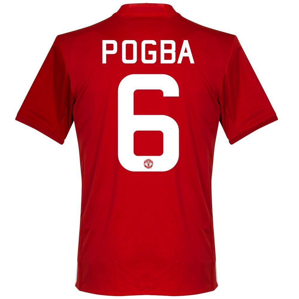 outlet store sale 99c39 dbab6 Buy Manchester United Home Pogba Jersey 2016 / 2017 (Cup ...