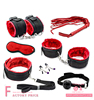 New Sexy 7 Pcs Set Kit Fetish Sex Bondage Sex Toys for Couples, male bondage Nipple Clamps For couples