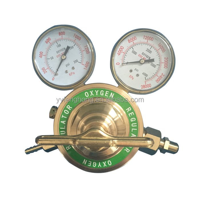 Heave duty victor type American pressure regulator for gas oxygen LPG Acetylene