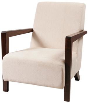 Neo Classic Wooden Armchair, Living Armchair, Classical Armchair