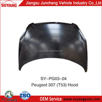 SUYANG NEW SELLING CAR BONNET PEUGEOT 307(T53) CAR ENGINE HOOD