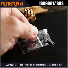 UHF Tamper Detection Passive anti-theft rfid sticker for Shoes Inventory Management
