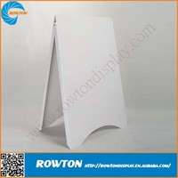 Portable outdoor plastic advertising board a frame signs