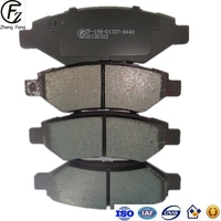 WEIFANG ZF semimetal ceramic and other formulation high quality D1337 AUTO brake pads for cars