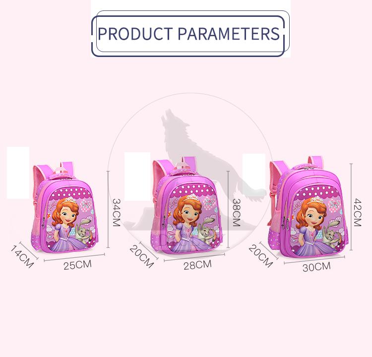 af9402ef3292 2018 new style free sample cheap low price kindergarten cartoon character  3d girls schoolbag backpacks school