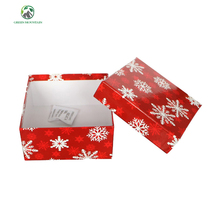 Recycled Full color printed Custom Cardboard Paper Box for Christmas gifts