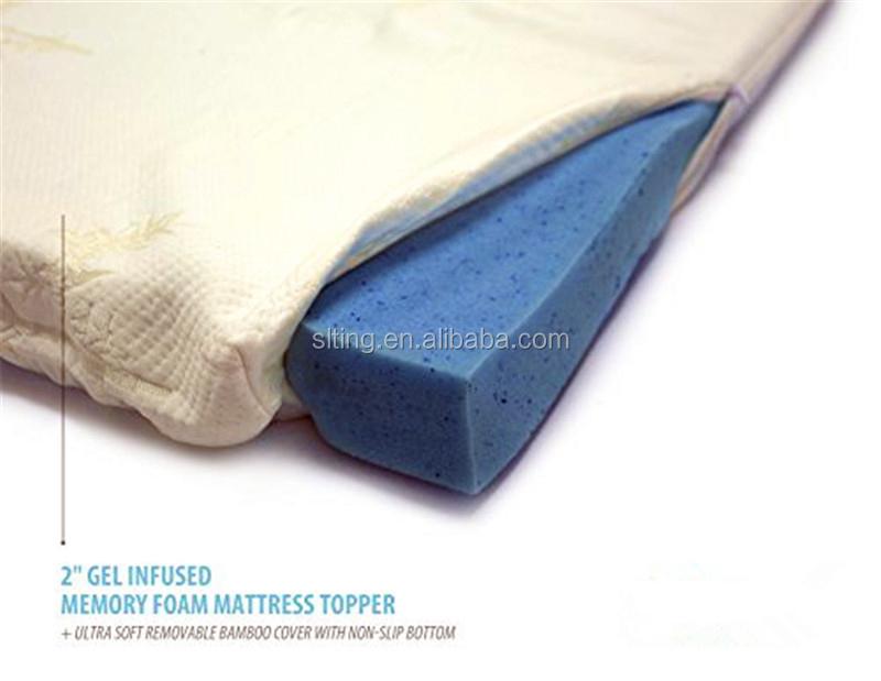 authentic comfort rx 5 zone 3u0027u0027 orthopedic gel foam queen mattress topper 150