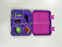 Plastic Collapsible Lunch Bento Box Food Storage Containers