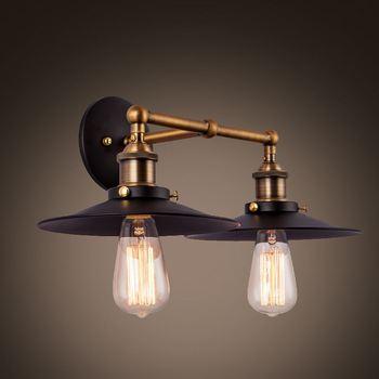 Vintage Rétro Mur Lampe Lamparas De Pared Industriel Loft Appliques ...