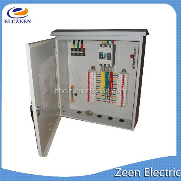 commercial low voltage electrical control distribution panel board