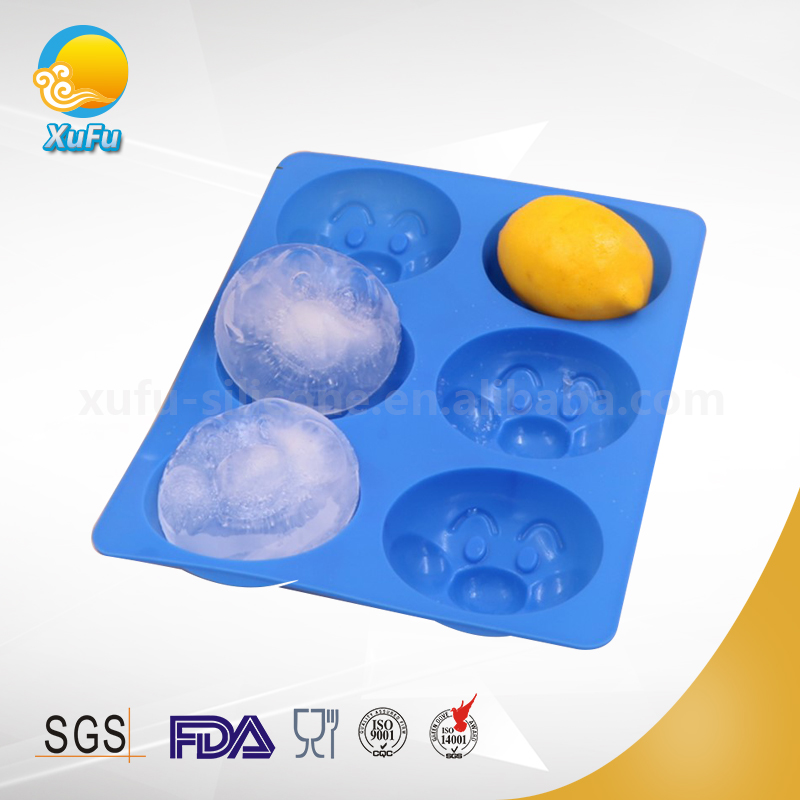 Children's favorite Mickey Mouse ice cookie muffin mold pan, food grade silicone baking cake mold