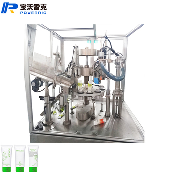 High Precise Automatic grease tube filling machine with cam vertical Bottom Up Filling