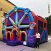 5 in 1 colorful inflatable Ferris Wheel combos with LED lights for carnival theme events