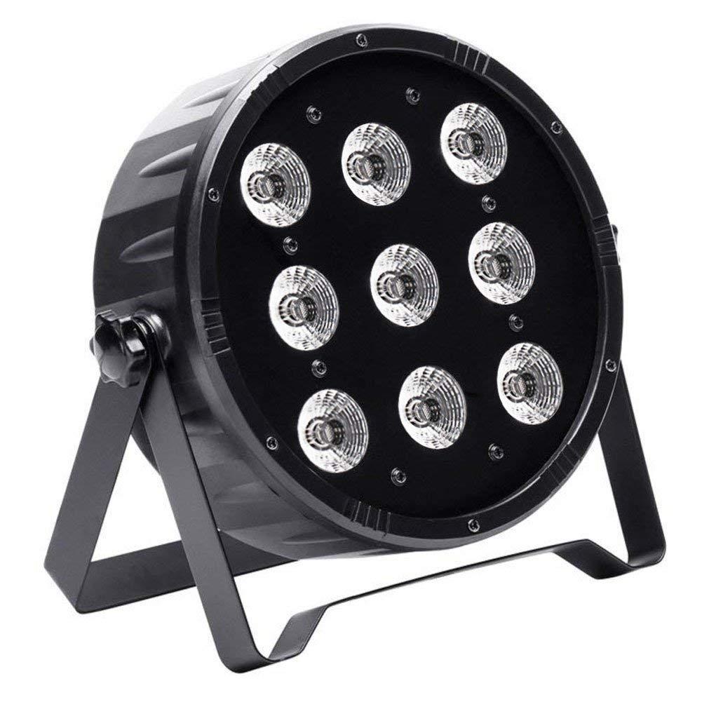 Stage Lights, U`King 9Leds X 10W Par Lights by DMX Control for DJ Party Show Wedding Stage Lighting
