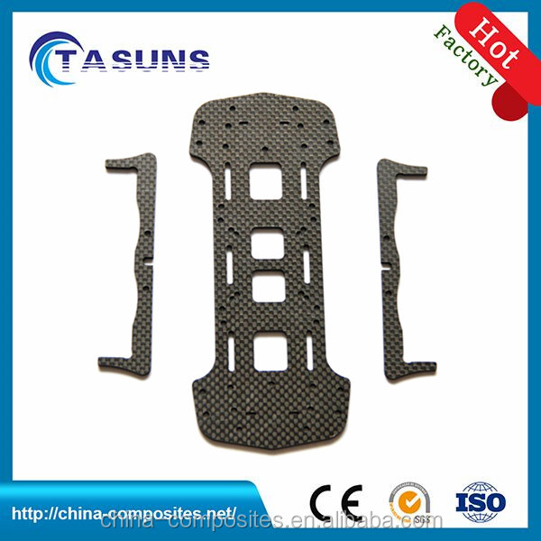 top quality custom cnc cutting carbon fiber rc part