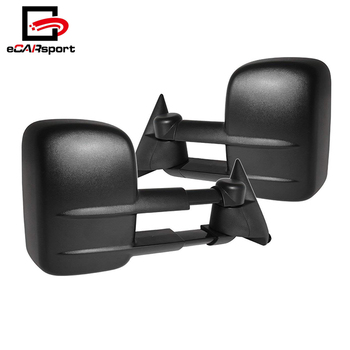 For Chevrolet For Silverado For Sierra For Telescope Extendable Power Side View Black Textured Abs Trailer Towing Mirrors Buy Side Mirror Side Mirror For Chevrolet Power Side Mirror Product On Alibaba Com