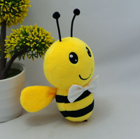 Custom animal toys cute little bee plush stuffed toys