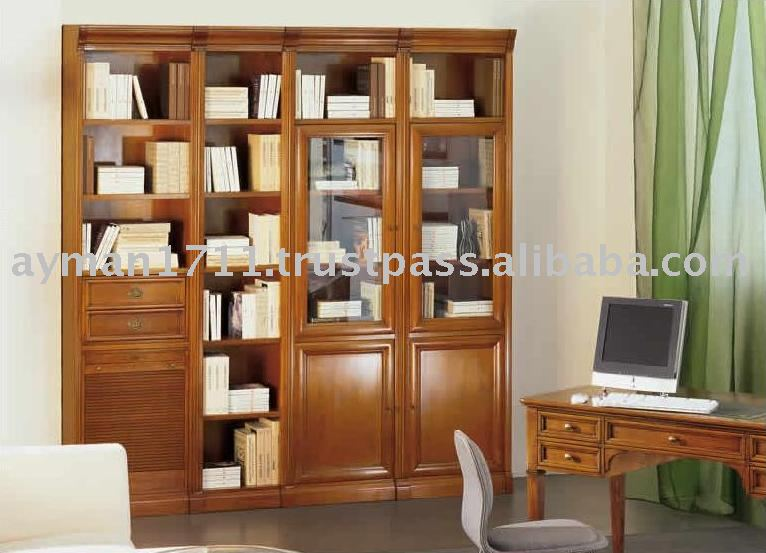 franz sisch holz bibliothek andere holzm bel produkt id. Black Bedroom Furniture Sets. Home Design Ideas